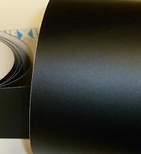 Scratch Protection Vinyl / Film. Black Textured @ 10cm x 123cm