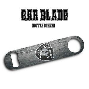 Oakland Raiders Bar Blade Bottle Opener