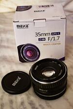 Meike 35mm f1.7 Lens for Fujifilm X mount