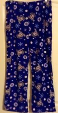 Disney's Winnie the Pooh's Eeyore Blue Non Footed Pajamas Lounge Pants L NEW