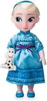 Disney Elsa Frozen Animator Colección Muñeca 39cm Alto & Olaf Juguete Peluche