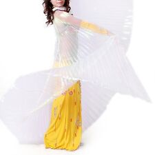 On Sale ! Belly Dance Isis Wing Indian dance Wings&Bag&sticks Multiple Colors