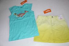 Gymboree Desert Dreams Girls Size 6 Bird Peacoc Top Shirt Tie Dye Skirt NEW NWT