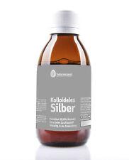 Kolloidales Silber (Silberwasser), 100ppm, 250ml, hochrein, koch konzentriert.