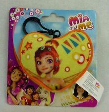 Mia and me Herzclip 118053 Gelb Herzanhänger Herzkissen mit Anhänger Joy Toy
