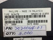 BC847B PHILIPS TRANS NPN 45V 0.1A SOT-23 3000 PIECES