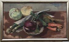 Mateo Cristiani 1890 Nature Morte - Chou-Navet, Carottes et Fühlingszwiebeln