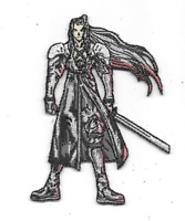 Final Fantasy VII Video Game Sephiroth Figure Embroidered Patch