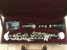 Buffet Crampon E11 Eb Granadilla Wood Clarinet (Silver Keys) + bonus barrel