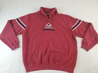 NHL EXCLUSIVE CLUB COLLECTION CO AVALANCHE HOCKEY ZIP JACKET Majestic