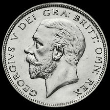 1933 George V Silver Half Crown, Scarce, G/EF