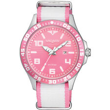 OROLOGIO VAGARY BY CITIZEN AQUA 39 DONNA STILE NATO PINK DIAL DATA IH3-110-90
