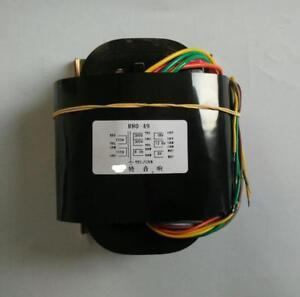 100VA R-core transformer 300V-0-300V  0-6.3V  0-18V   0-12.6V   0-9V       L12-7