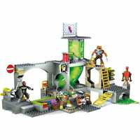 Mega bloks TEENAGE MUTANT NINJA TURTLES Tortues Ninja Coffret égouts NEUF !