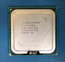 INTEL XEON E5440 QUAD CORE PROCESSOR 2.83GHZ/12M/1333 (SLANS) SOCKET LGA771