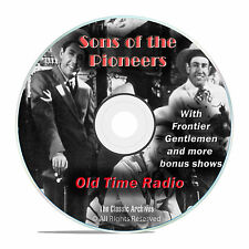 Sons Of The Pioneers, 1,018 Episodes Old Time Radio Westerns, OTR DVD MP3 F97