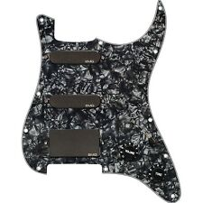 EMG SL20 Steve Lukather Alnico V SLV Single Coil Pickups Set Pickguard Black