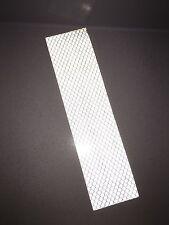 3M White Engineer Prismatic Grade 3430 Adhesive Reflective Tape Strip 50mmx200mm