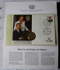 schöner Numisbrief Belgien mit 20 Franc Münze 1993 (110075)