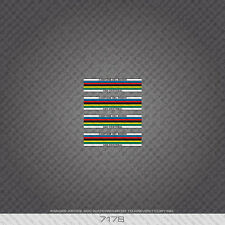 07178 Moser Bicycle Tubing Bands / Stripes Stickers - Decals - Transfers