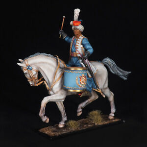 Tin soldier, Timpani of the Imperial Guard Dragoon Regiment, 54 mm