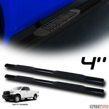 """4"""" Black Side Step Nerf Bars Running Boards 07-18 Toyota Tundra Double/Crew Cab"""