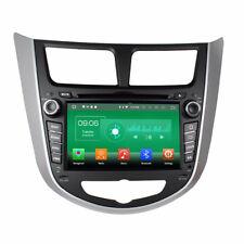 Octa Core Android 8.0 Car Stereo DVD GPS Player Navi Hyundai Verna /Accent 11-15