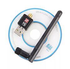 Mini USB Wifi Adapter 150Mbps 2dB Antenna PC USB Wi-fi Receiver Wireless Network