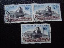 COTE D IVOIRE - timbre yvert et tellier n° 276 x3 obl (A27) stamp