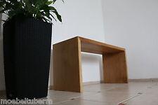 Designer Hocker aus Eiche massiv Holz Sitzhocker NEU Stuhl Sitzbank au. auf Maß