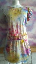 Per Una Vestido Talla 10 Acuarela Tie Dye Primavera Verano Boho De Varios Colores