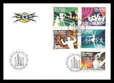 Iceland 1994 FDC, 50 Years of Creative Art and Culture. Lot # 1.