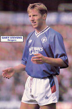 Football Photo>GARY STEVENS Rangers 1990-91