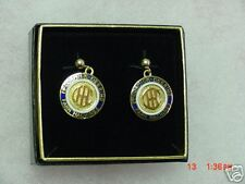 IHC McCormick Deering IH post pierced earrings, NIB