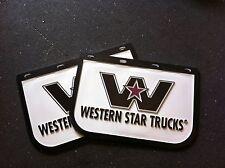 western star Mudflaps new 18 X 12 inch truck ute