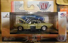 M2 Machines Premium Detroit Muscle 1968 Mercury Cougar XR-7G 390 New Release 34