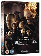 MARVEL'S AGENTS OF S.H.I.E.L.D. SHIELD STAFFEL 4 DVD DEUTSCH NEUWARE OVP