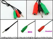 3.5MM AUDIO/MIC 1MALE/2FEMALE CABLE SPLITTER