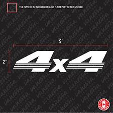 2X 4X4 HONDA sticker vinyl decal