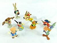 Looney Tunes PVC 1990 Lot of 8 Warner Brothers Figures Applause Inc
