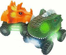 Dinosaur Cars Toy Roaring Sound Realistic Vehicle direct LED Light Up Walking 2