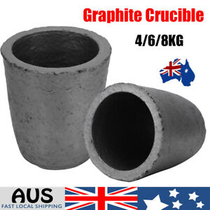 4/6/8kg Cup Shape Silicon Carbide Graphite Furnace Casting Crucible Melting Tool