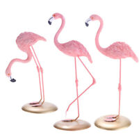 Female Flamingo Novelty Ornament European Statue Figure Indoor Decoration