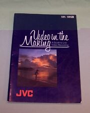 JVC Video In The Making A Guide To Live Video Recording VHS Victor Co 1982