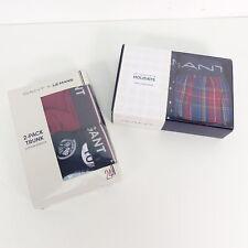 GANT Herren Underwear Boxershorts colourful Muster EU XL 2er Pack Unterteil
