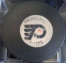 Vintage Art Ross Converse Philadelphia Flyers Puck 1969-77 WELL USED CCM USA