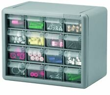 """Akro-Mils 10716 16-Drawer Parts Storage Hardware & Craft Cabinet 11"""" by 9"""" by 7"""""""
