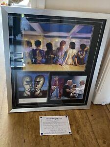 Pink Floyd Signed Picture Montage Framed
