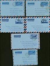 Thailand - Aerogramme to West Germany (x6). (8G-30240) Mv-5878