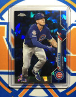 NICO HOERNER 2020 Topps Chrome Sapphire Base RC #70 Chicago Cubs Rookie